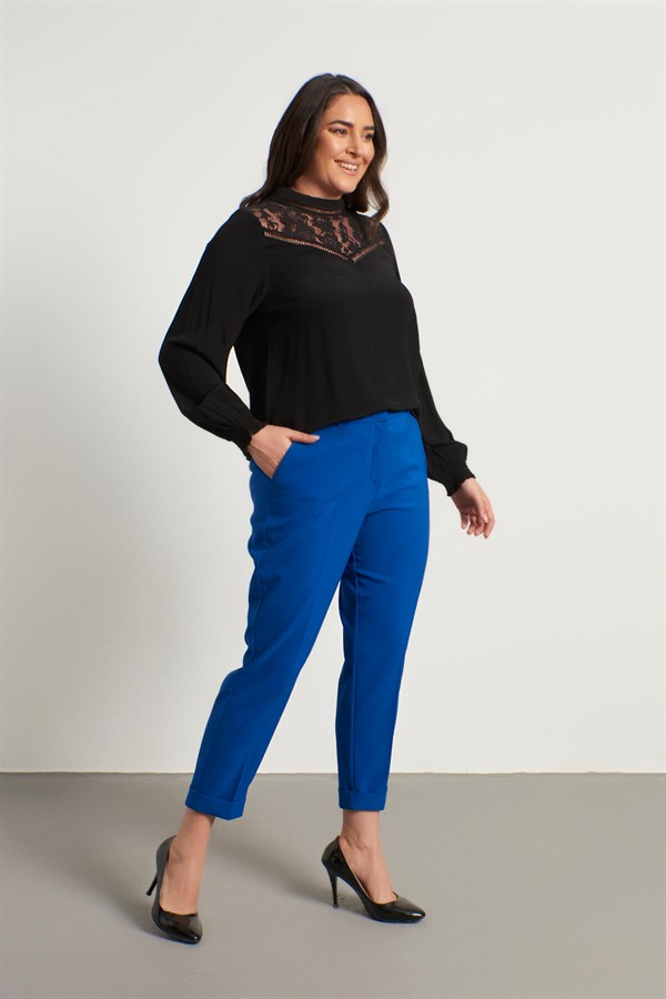 Big Size Slim Fit Classic Trousers