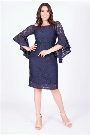 Big Size Lace Dress